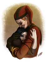 Commission: Cicero and Beth by GalooGameLady
