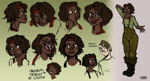 Girl character exploration