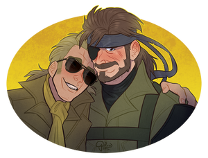 Commission: Kaz and Boss