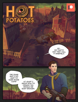 Hot Potatoes - Page 01 redraw by GalooGameLady