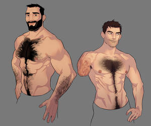 I should draw some muscles too sometimes