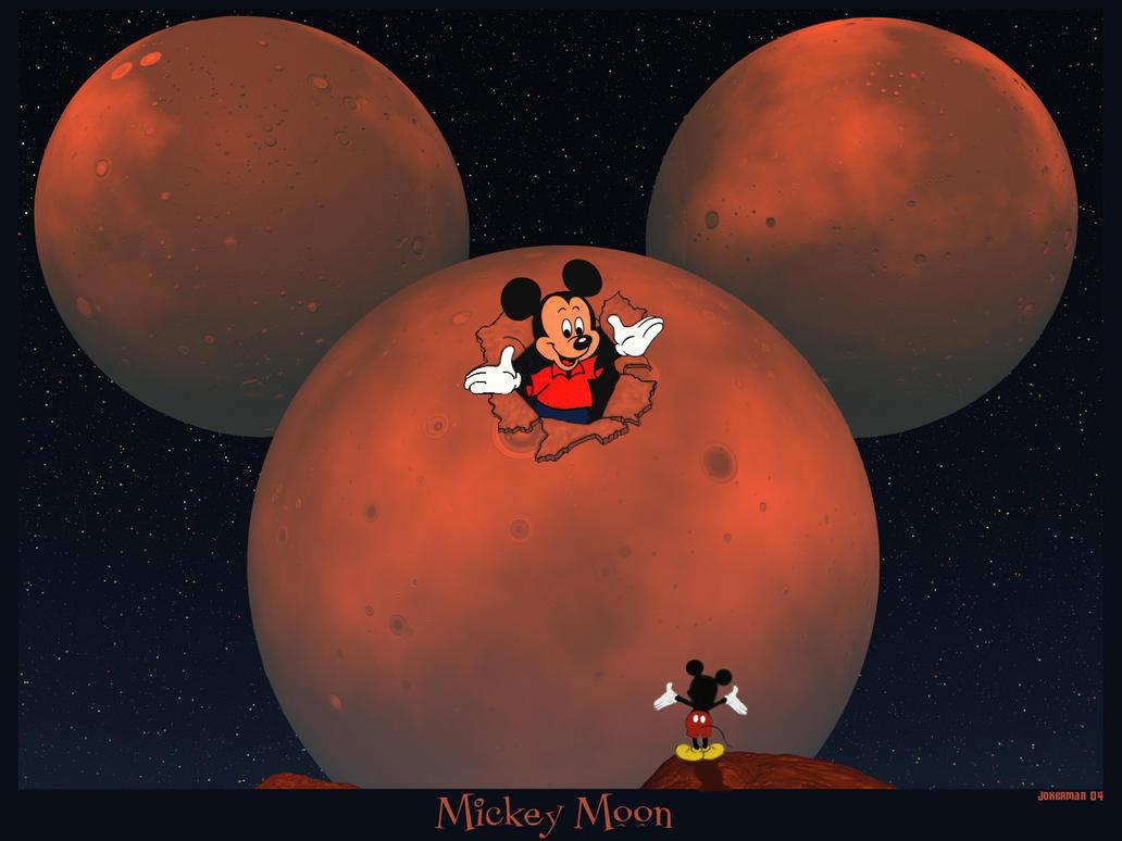 Mickey Moon by IzaLoozer