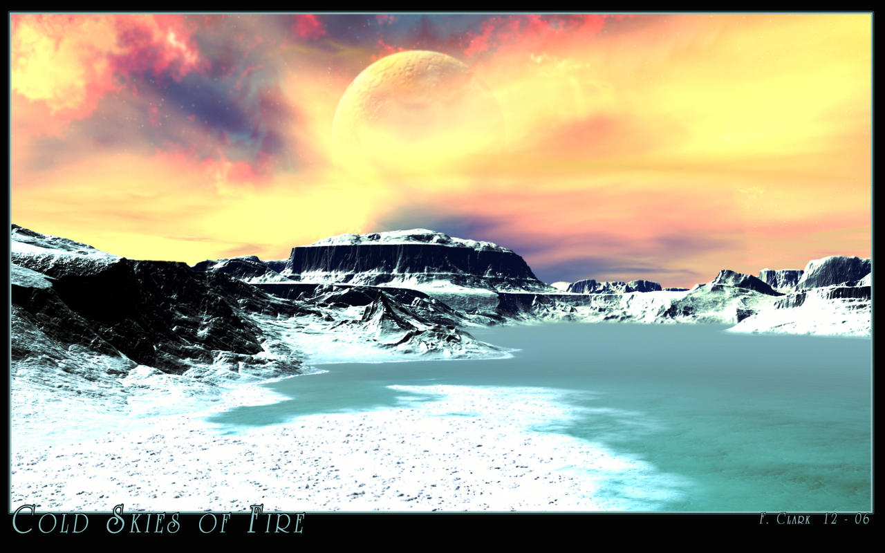 Cold Skies of Fire by IzaLoozer