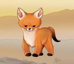 Bad mood foxy