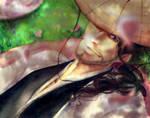Kyouraku Shunsui - Underneath the Cherry Tree