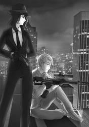 Contessa and Number Man by Yun-Yun-Hakusho