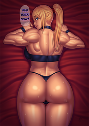 Samus massage by Ero-Chong
