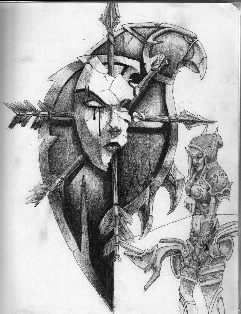 Sylvanas Windrunner by DaemonReaper