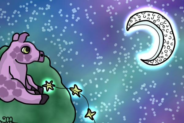 Piggy Daydream by mickeyge98