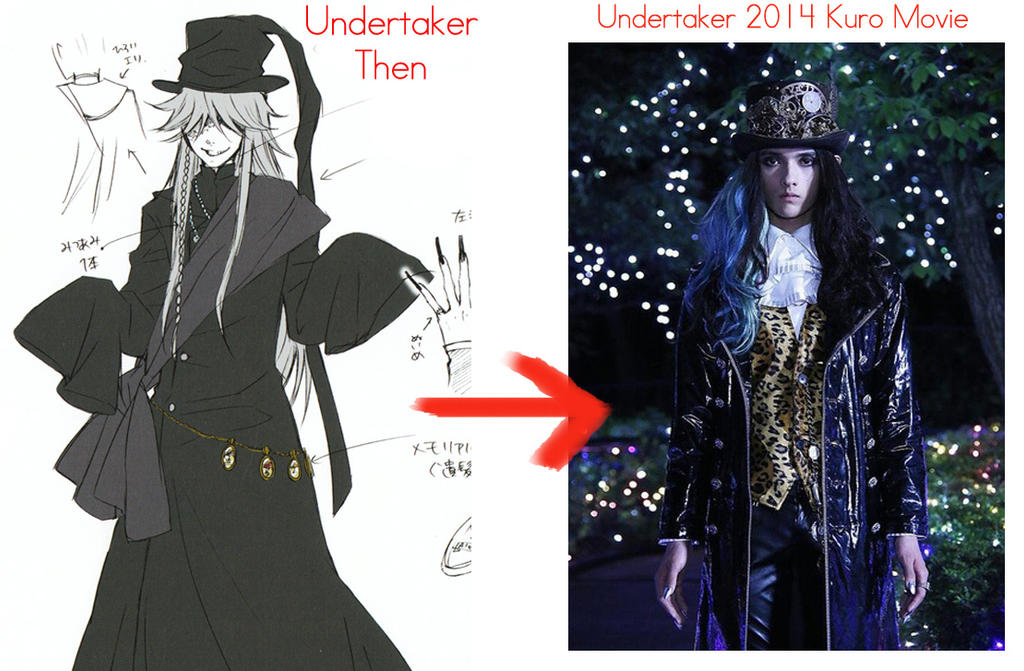 New Undertaker 2014 Kuroshitsuji Movie By TheUndertakersKitty