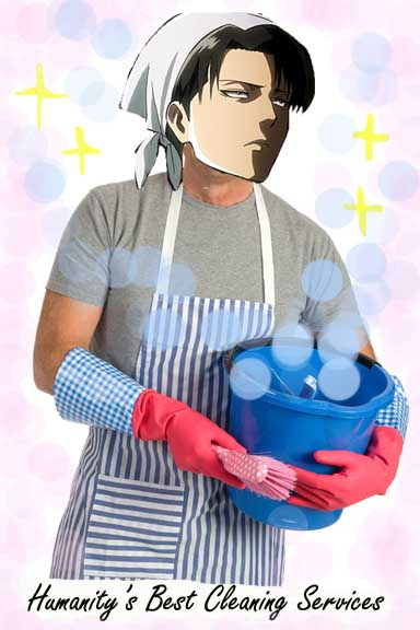 Humanity's Best Cleaning Services by TheUndertakersKitty
