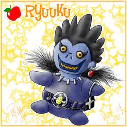 Ryuuku Plushie by ran-chan-sama