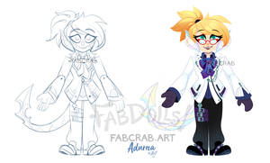 fabdoll badge - Adurna