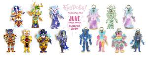 Blizzcon 2019 badges - June batch