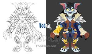 fabdoll badge - Focail