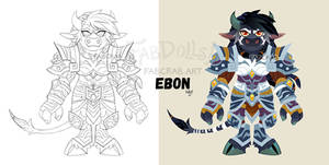 fabdoll badge - Ebon Thundermoon