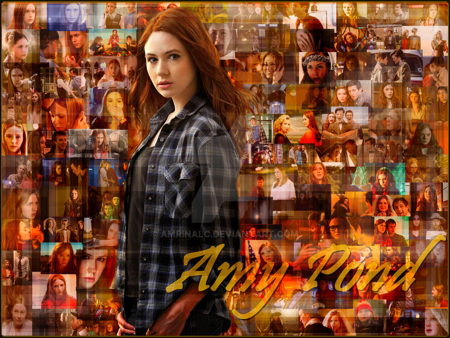 Amy Pond by Amrinalc