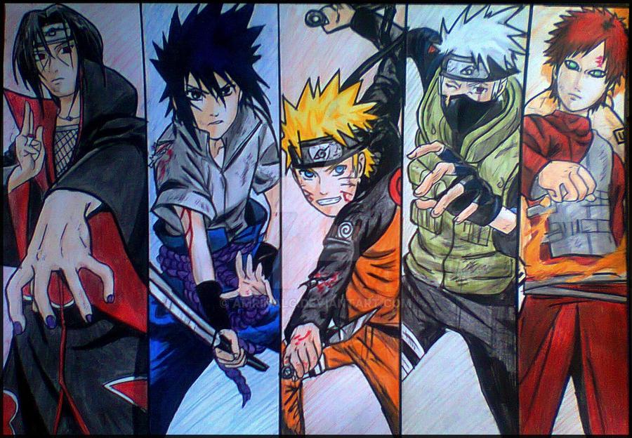 Naruto by Amrinalc