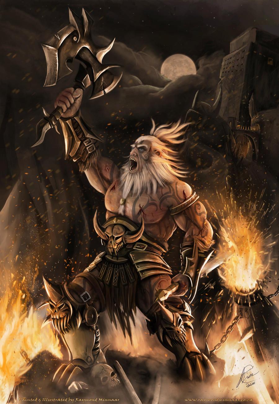 Barbarian by RaymondMinnaar