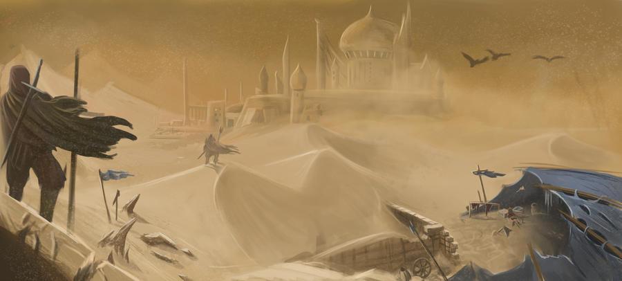Desert by RaymondMinnaar