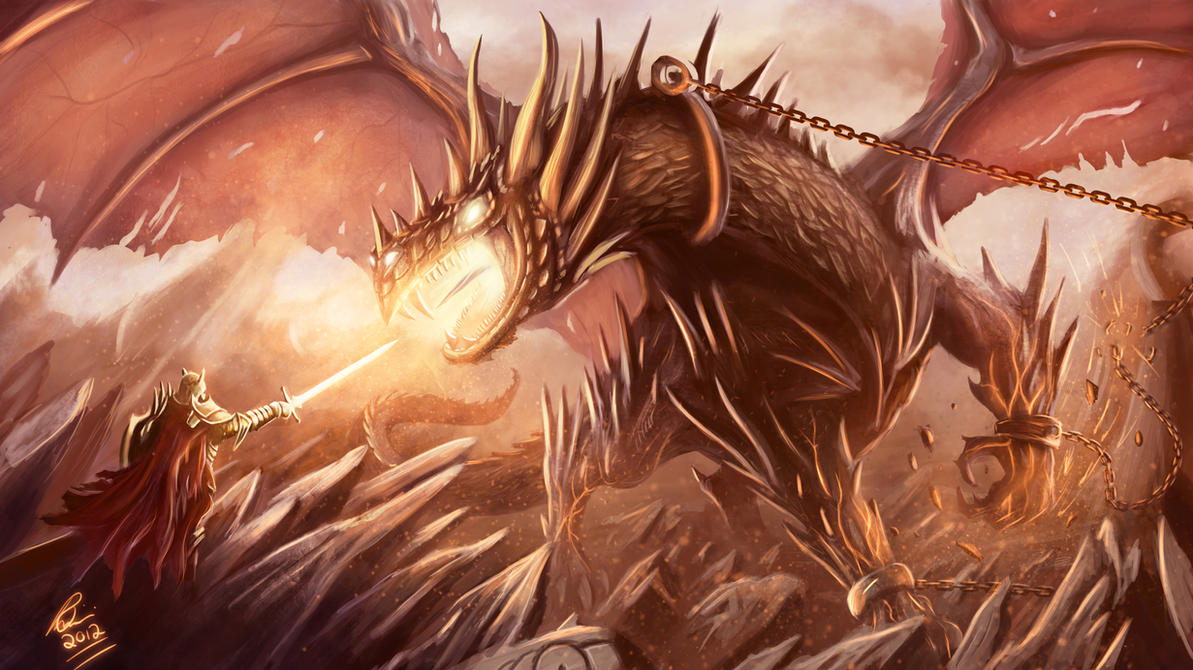 Dragon Tamer by RaymondMinnaar