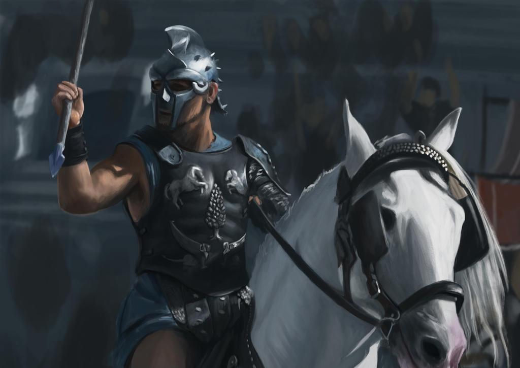 Maximus  paint study