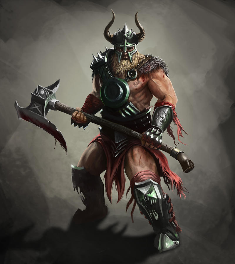 Barbarian Concept by RaymondMinnaar