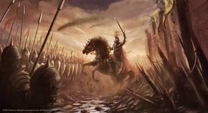 Avalon Lords Battlefield Illustration