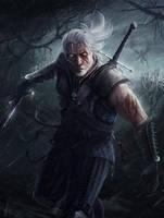 Geralt of Rivia - The Witcher by RaymondMinnaar