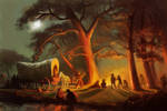 Master study - Albert Bierstadt