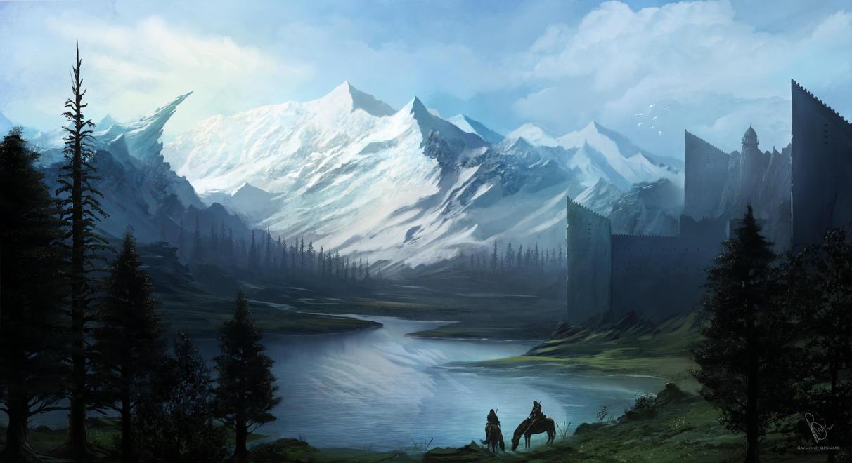 fantasy landscaperaymondminnaar on deviantart