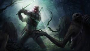 Witcher 3 Fanart by RaymondMinnaar