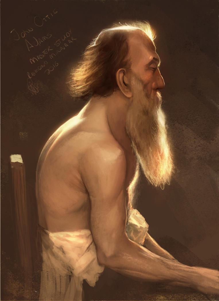 John Ottis Adams master study, by RaymondMinnaar