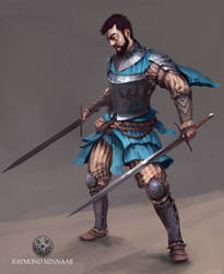 Knight paintup by RaymondMinnaar