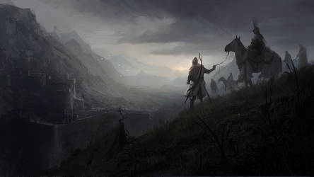 Aelish Highlands by RaymondMinnaar