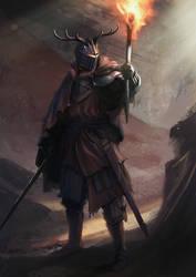 Knight by RaymondMinnaar