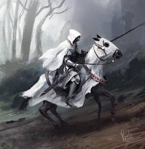 Knight speedpainting