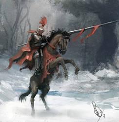 Knight paintup 2 by RaymondMinnaar