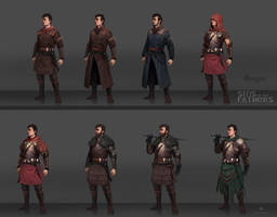 Character concepts Sins of our fathers