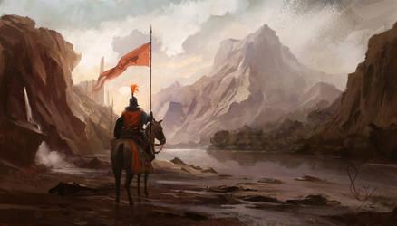Land of Myriac by RaymondMinnaar