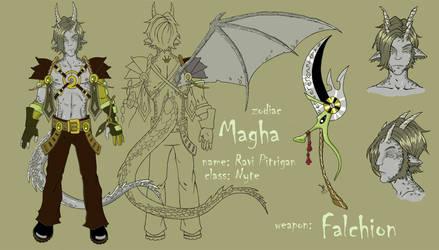 Magha character sheet