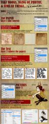 Tutorial - Fake Books - ENG by truepoetryneverdies