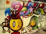 graffiti pensamentos close