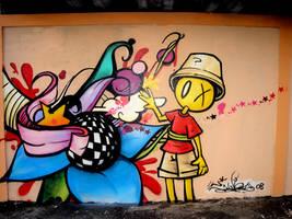graffiti dreams detalhe 1 by tintanaveia