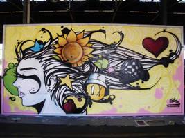 Graffiti Naturalmente livre by tintanaveia
