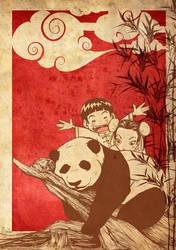 Panda by tintanaveia