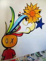 Graffiti finish by tintanaveia