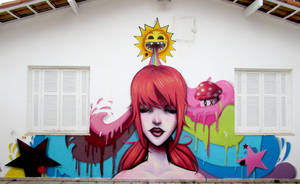 True colors graffiti