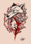 Red riding hood _ tattoo design