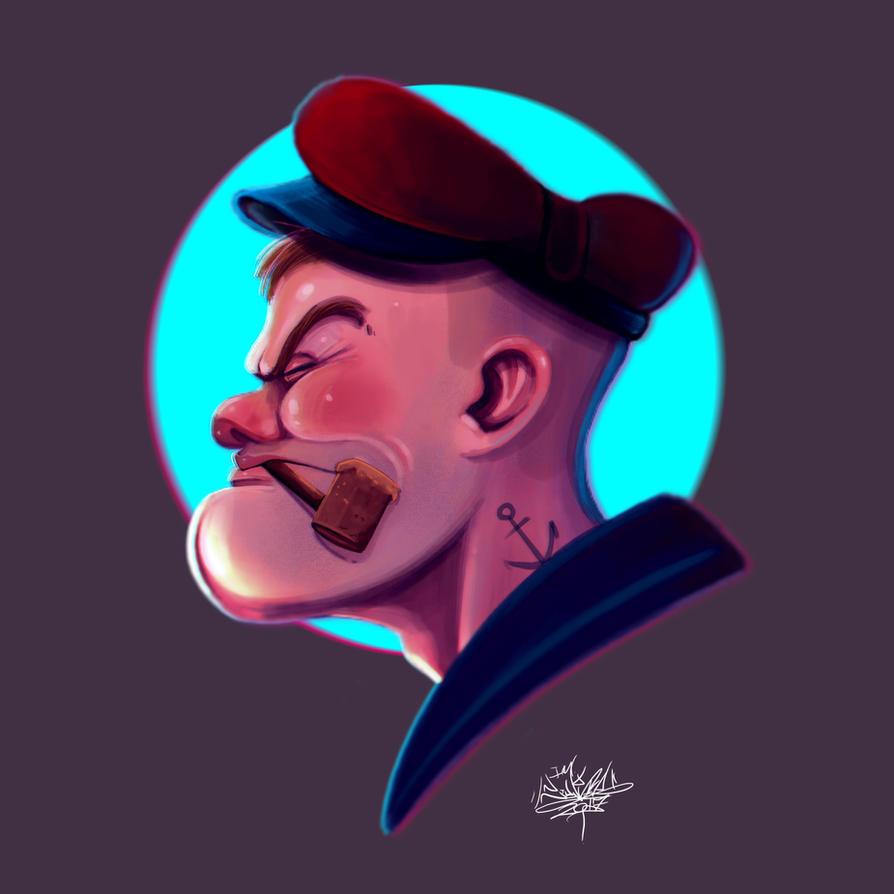 Popeye by tintanaveia